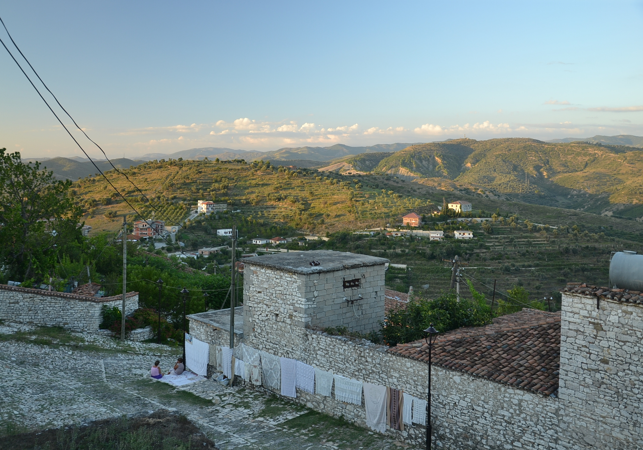 Berat - view from castle