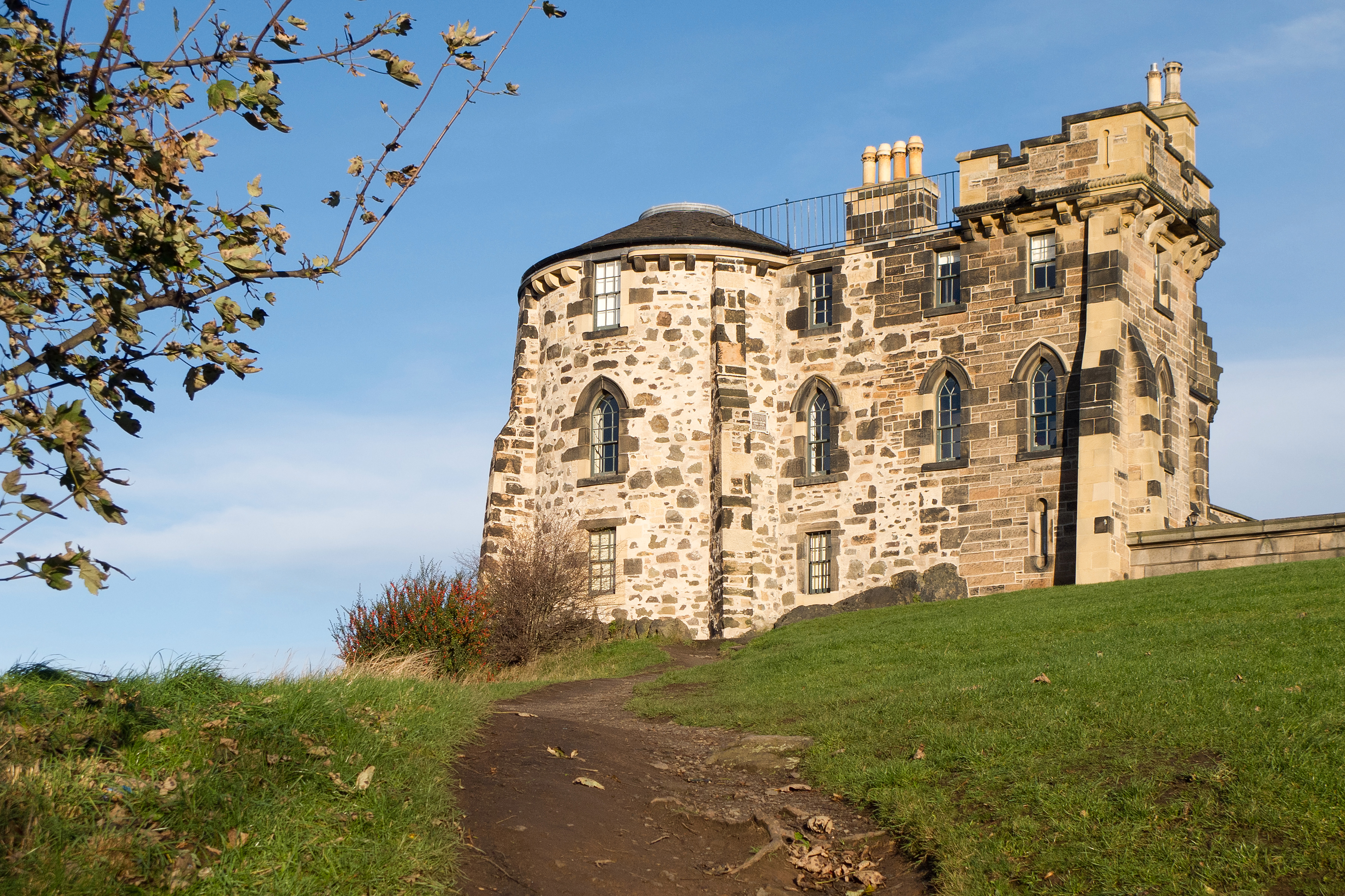 Gothic Tower - City Observatory of Edinburgh - 05