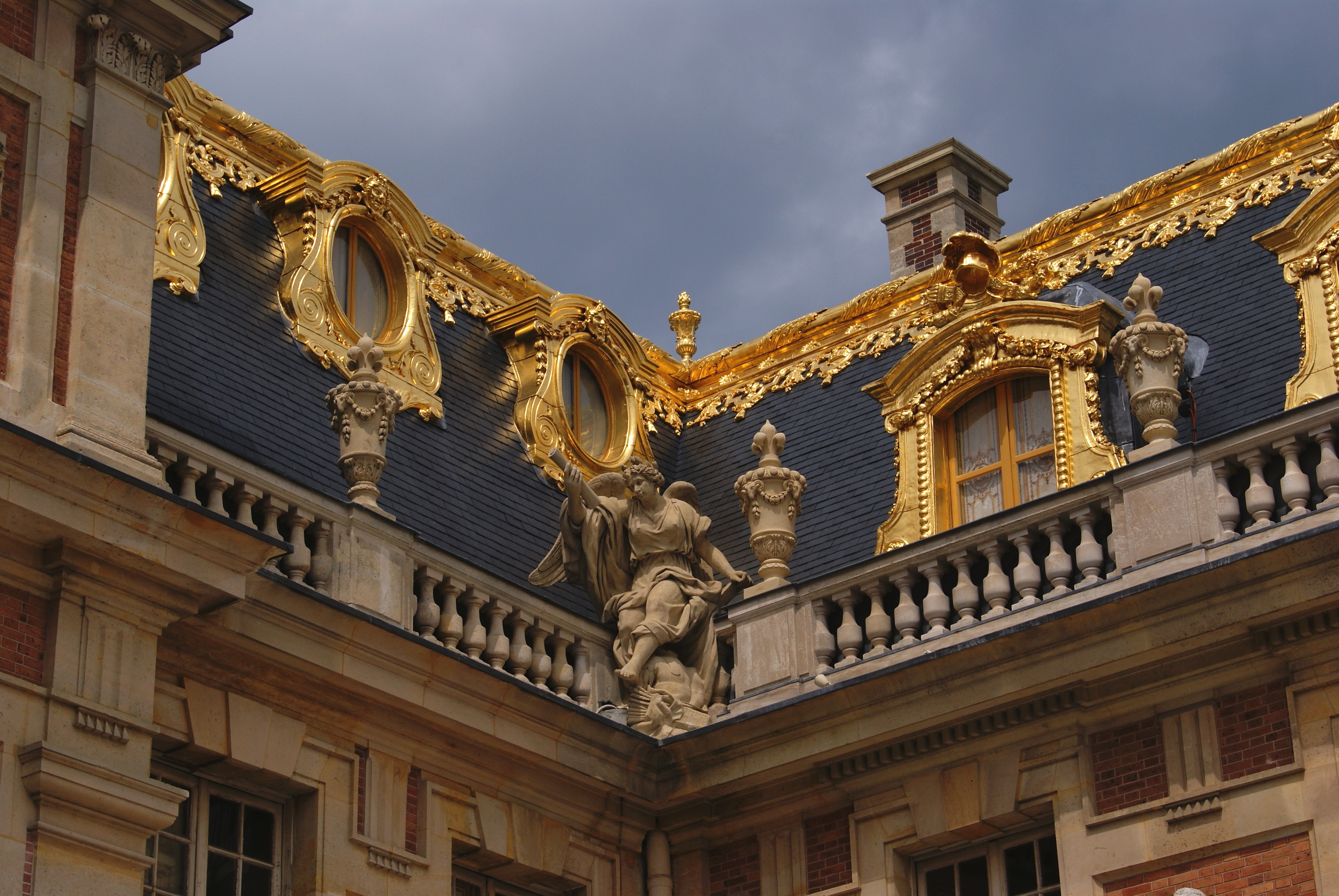 Palace of Versailles roof detail
