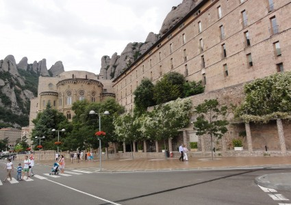 Montserrat mountain near Barcelona, Spain, European Union, photo 9