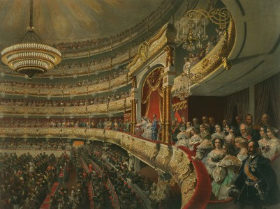 Performance in the Bolshoi Theatre