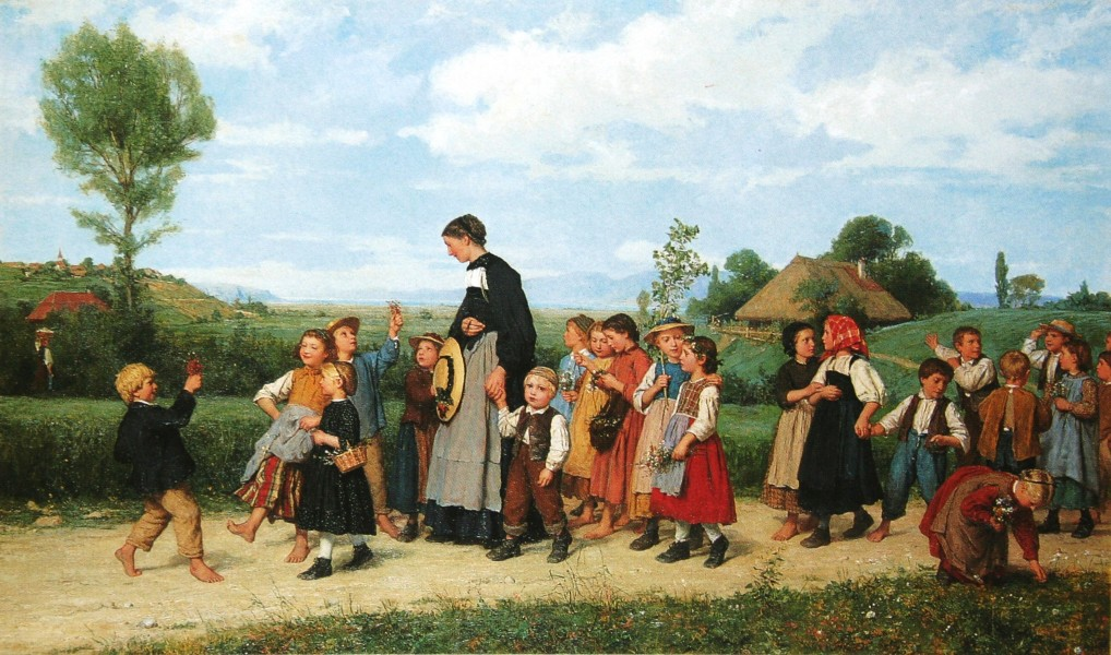 Anker Schulspaziergang 1872