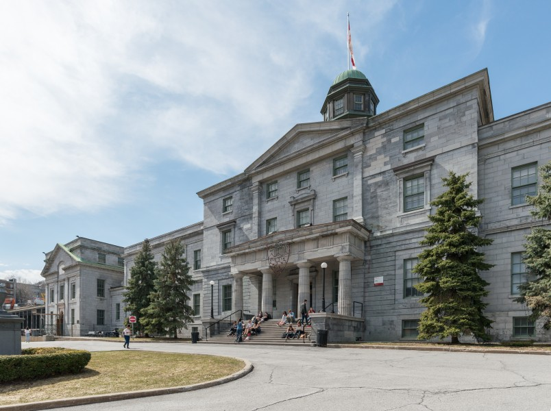 Arts Building, McGill University, Montréal, East view 20170410 1