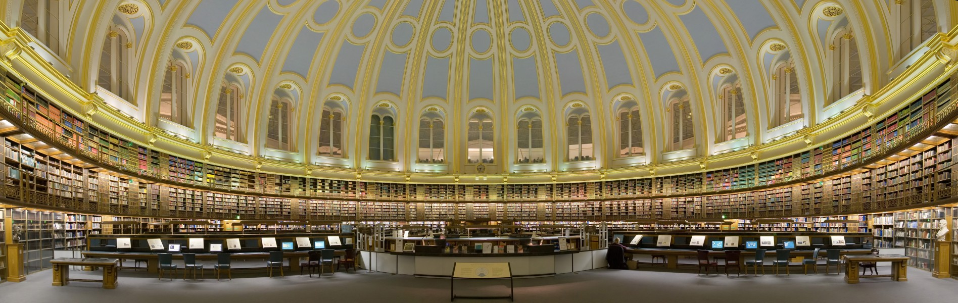 British Museum Reading Room Panorama Feb 2006 edit1