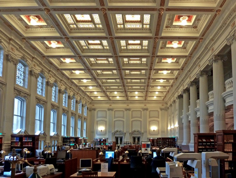 Wisconsin Historical Society library reading room
