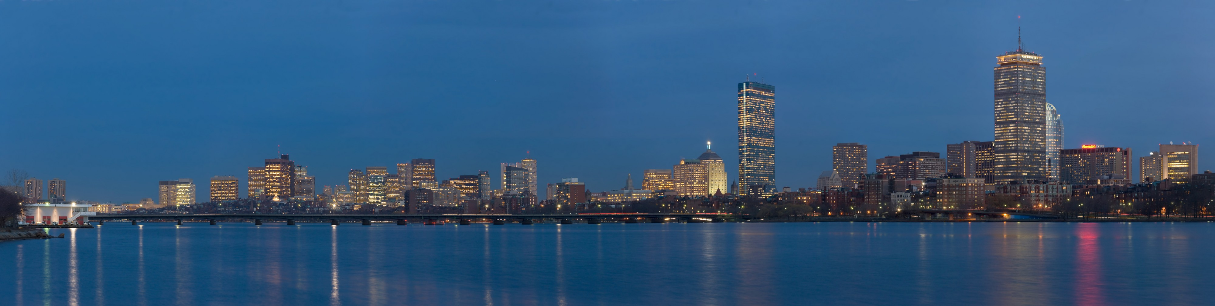 Boston Twilight Panorama 3