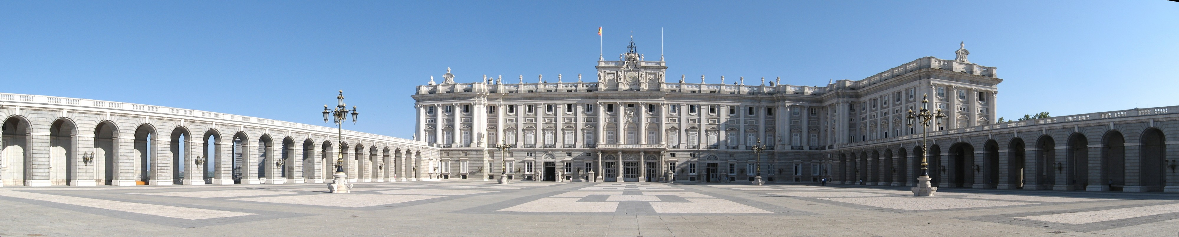 Madrid Palacio Real pano equirectangolar