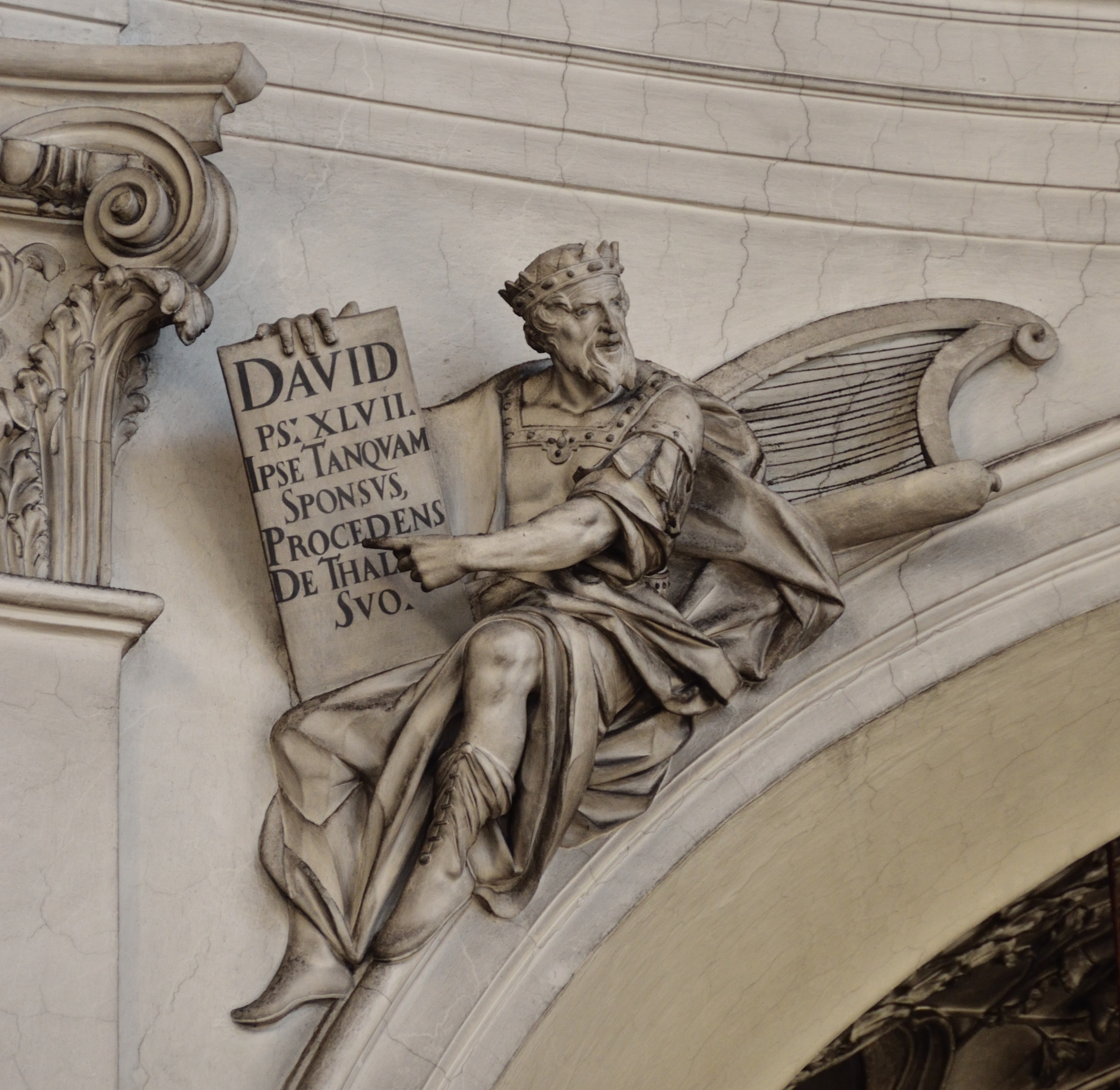 David, Servite church, Vienna