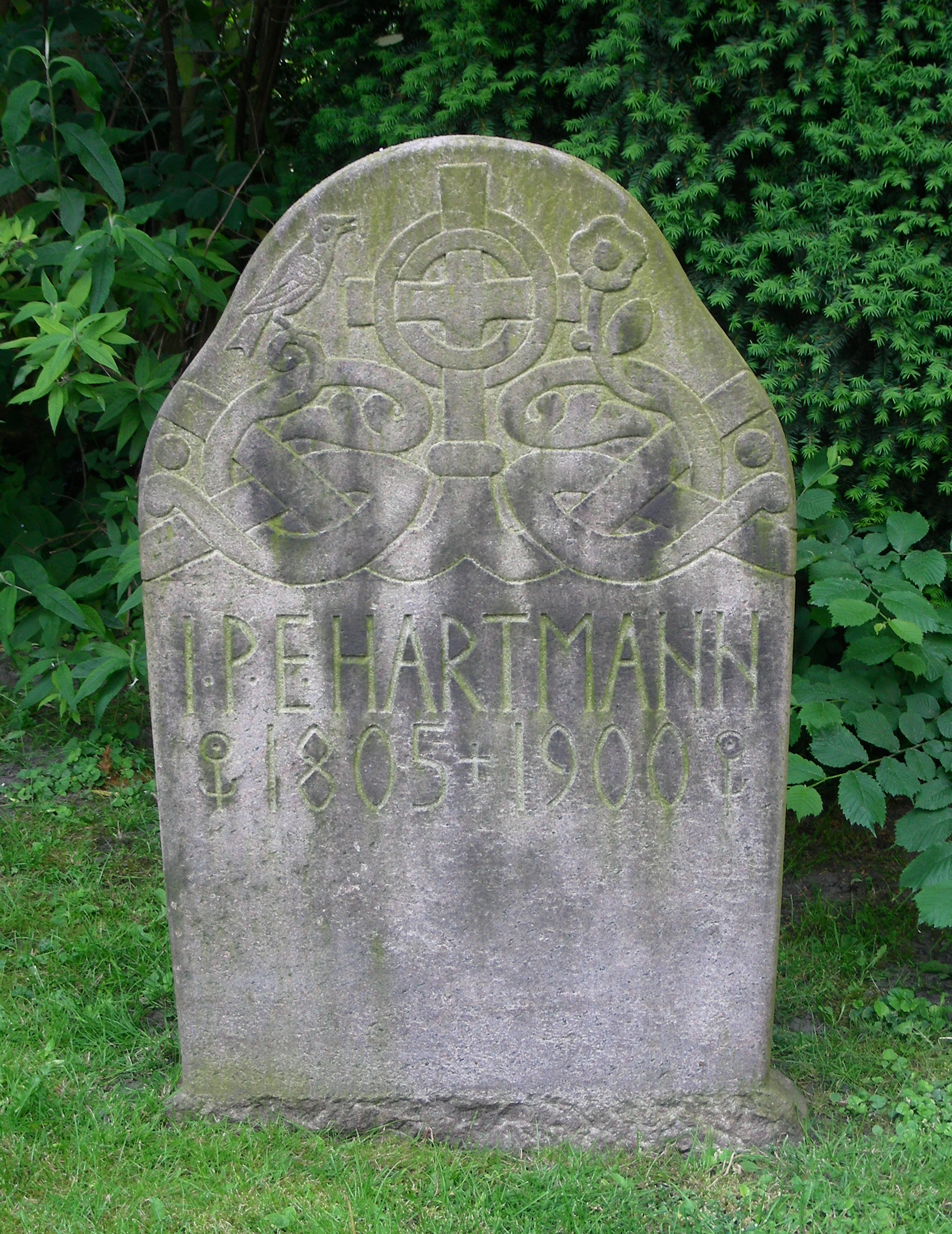 Garnisons Kirke Copenhagen headstone
