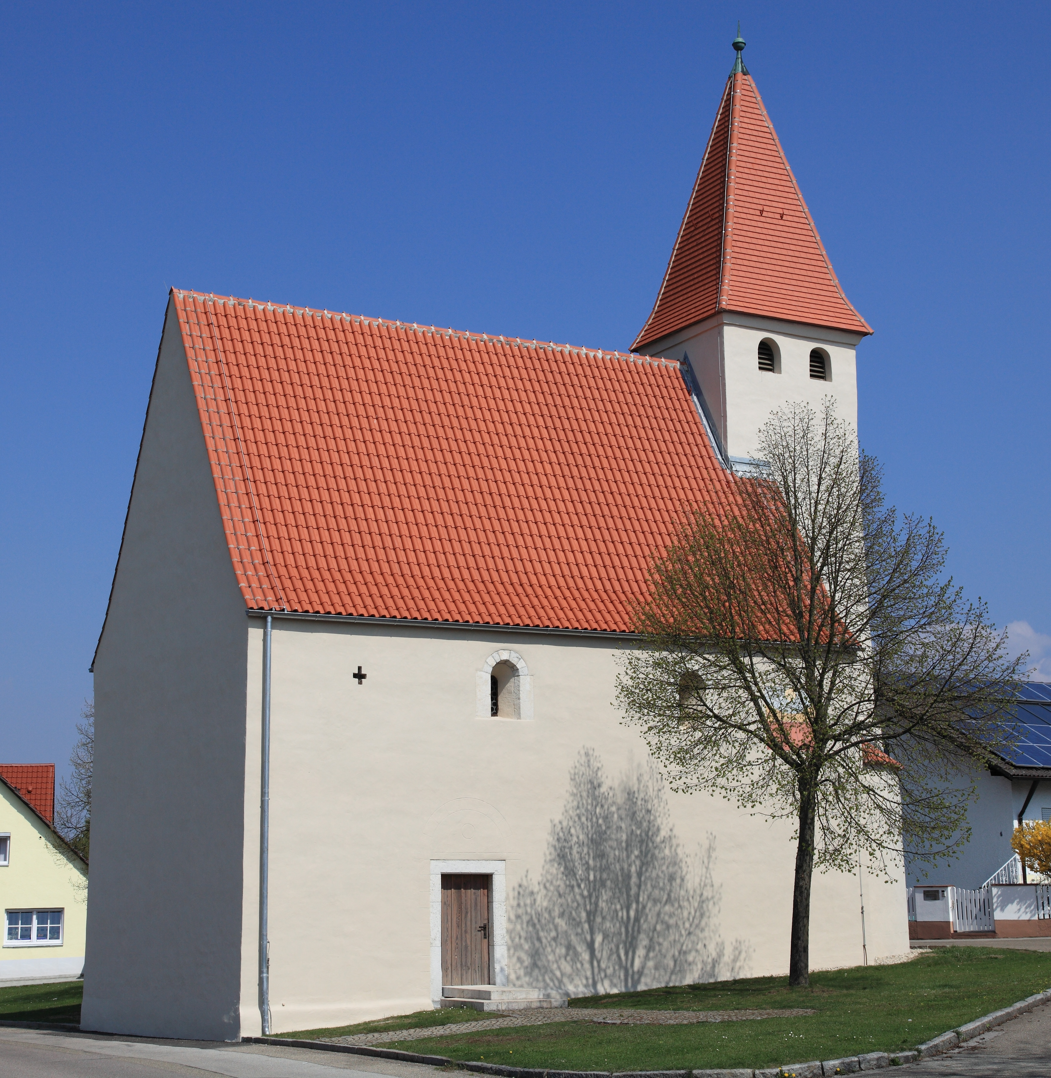 Hepberg Romanesque old St. Oswald church
