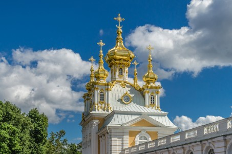 Church of Grand Peterhof Palace 01