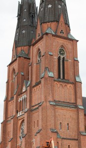 Uppsala Cathedral, Sweden, in June 2014, picture 1