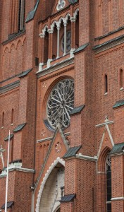 Uppsala Cathedral, Sweden, in June 2014, picture 3
