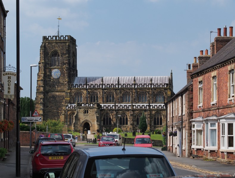 2013 Thirsk Church and Kirkgate North