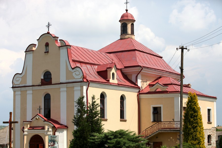 a Roman-Catholic church in Ukraine