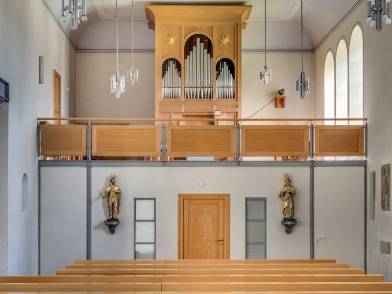 Aisch church pipe organ 17RM1000hdr
