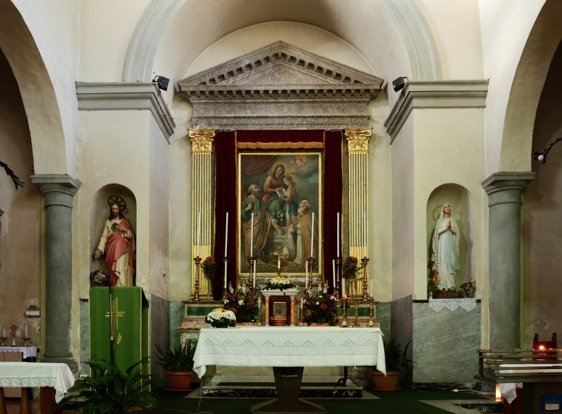 Altar of Church of San Silvestro (Sutri)