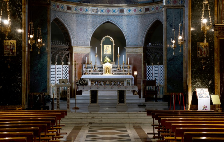 Altar of Church of St. Alphonsus Liguori, Rome