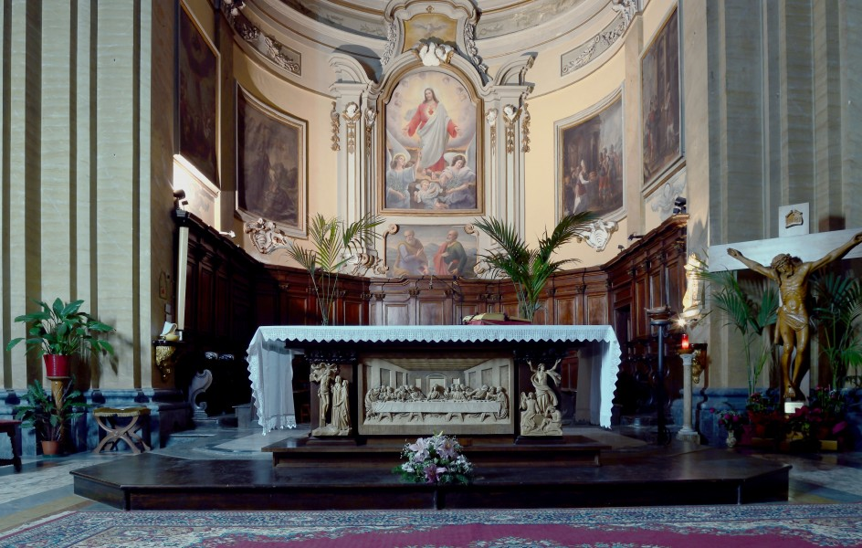 Altar of St. Francis in Amelia