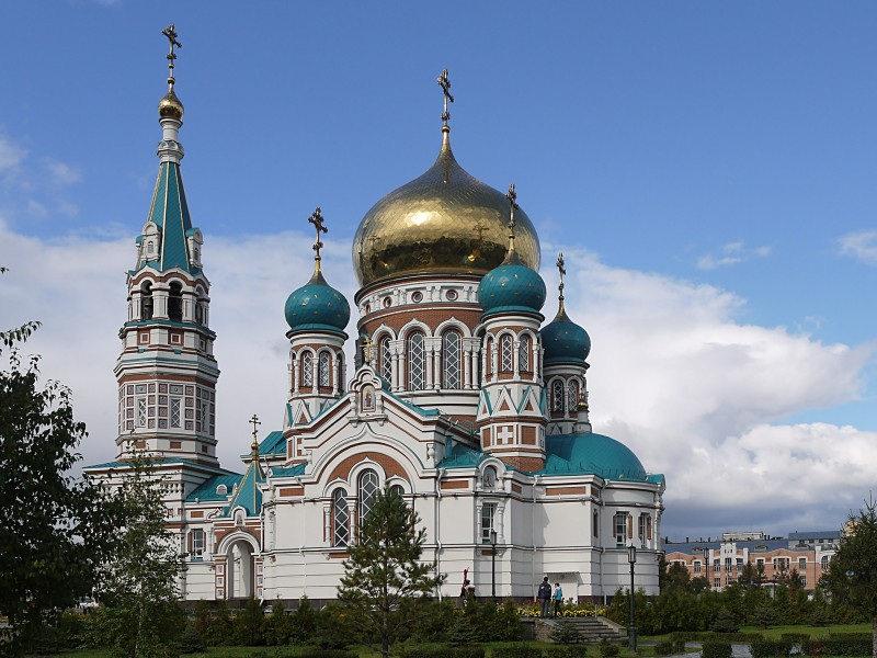 Assumption Cathedral, Omsk1