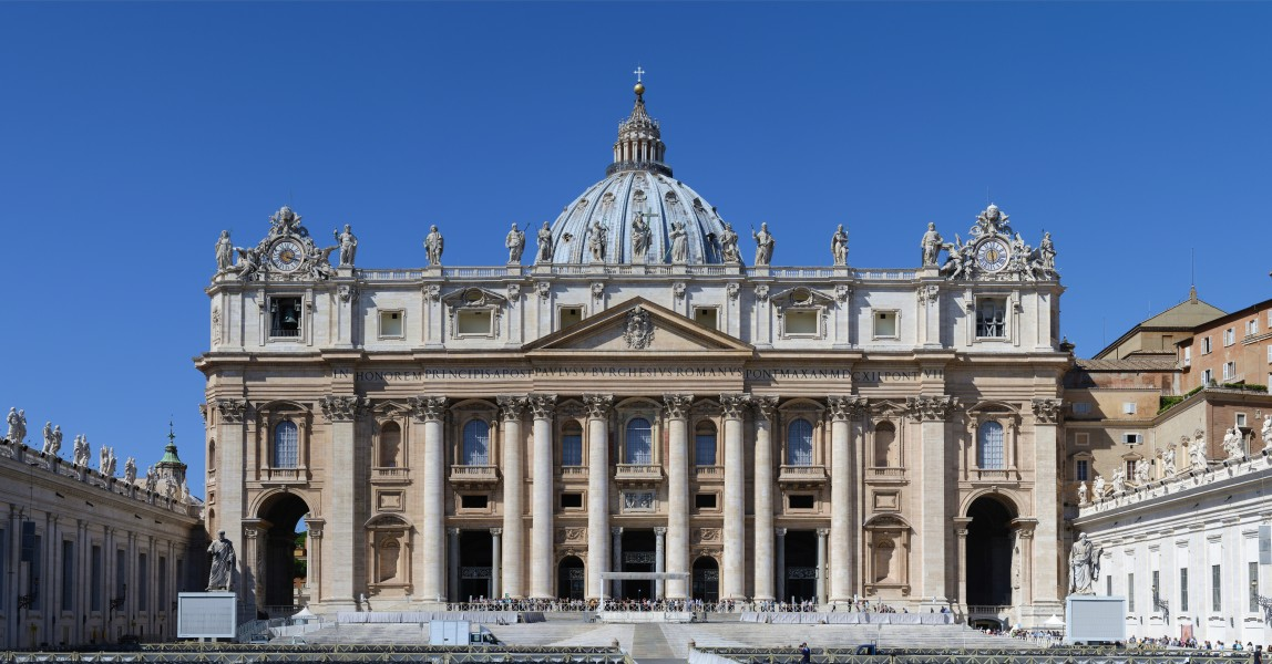 Basilica di San Pietro in Vaticano September 2015-1a