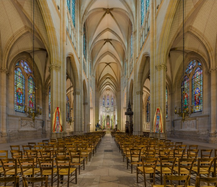 Basilica of Saint Clotilde Interior, Paris, France - Diliff