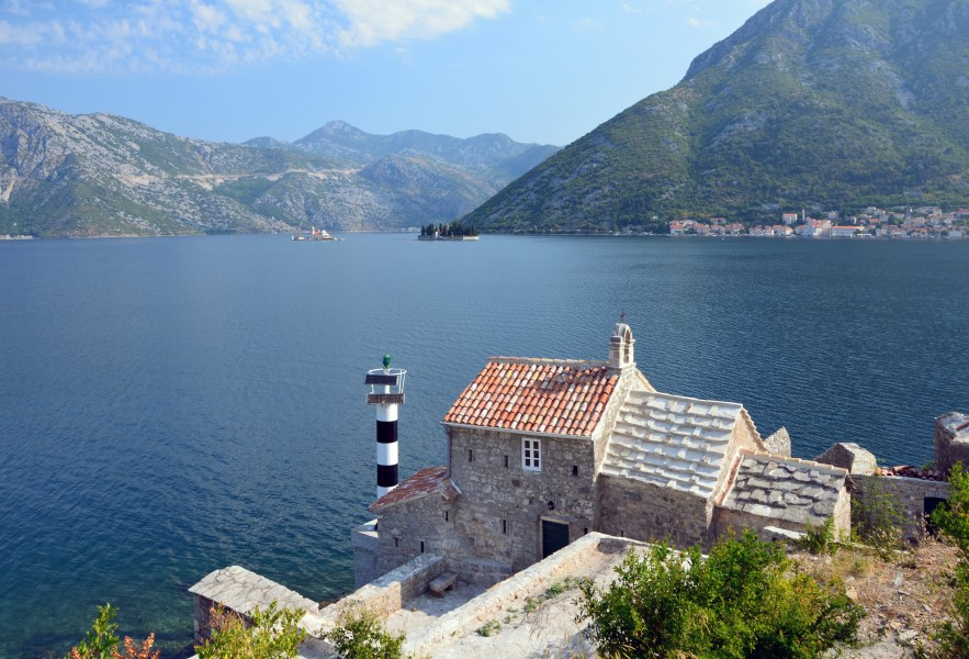 Bay of Kotor from Lepetani's road