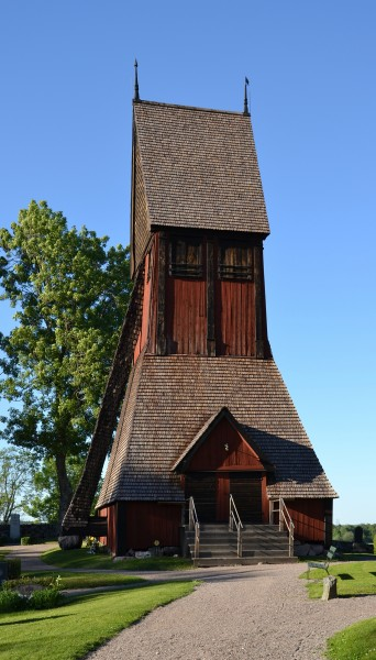 Bell tower of Gamla Uppsala church