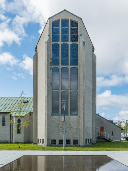 Bodø Cathedral, Northeast view 20150608 1