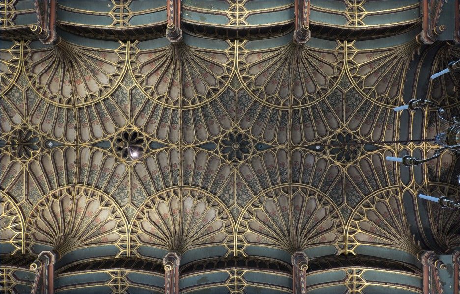 Brasenose College Chapel, University of Oxford, ceiling
