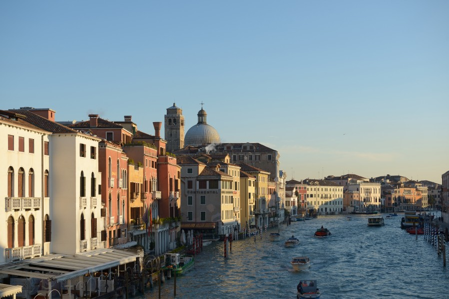 Canal Grande San Geremia from the Scalzi bridge