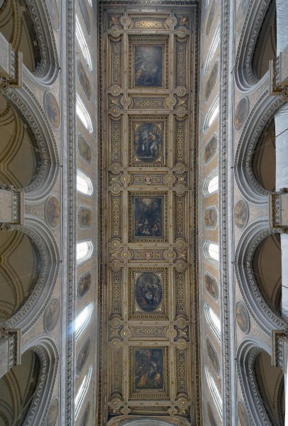Cathedral (Naples) - Ceiling