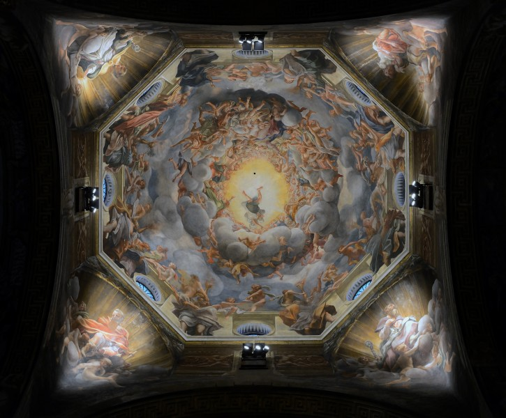 Cathedral (Parma) - Assumption by Correggio