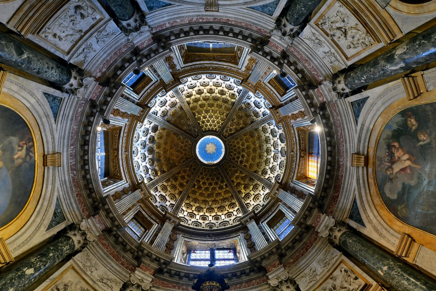 Cathedral (Siena) - Chigi chapel - Dome interior