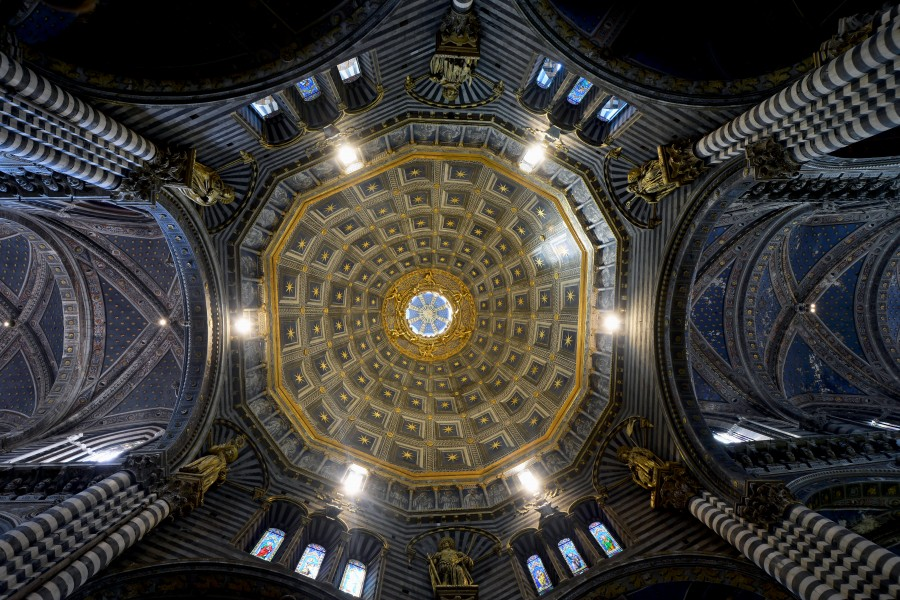 Cathedral (Siena) - Dome interior