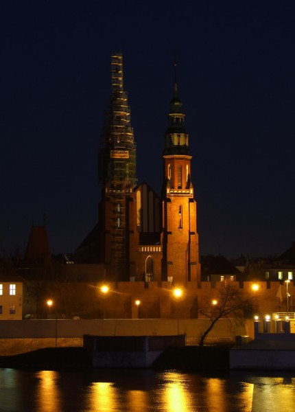 Cathedral in Opole (Oppeln)