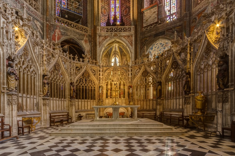 Cathedral of Saint Cecilia of Albi - 7095 - Altar and choir