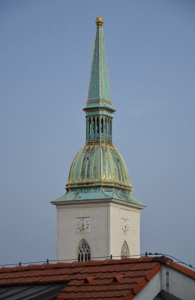 Cathedral of St Martin, Bratislava - tower