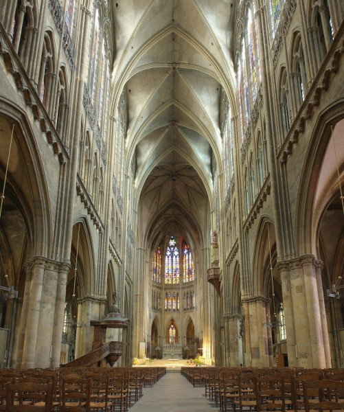 Cathedrale Metz Nef pano