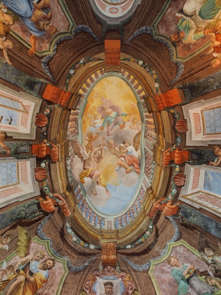 Chapel ceiling of Brežice castle (Slovenia)