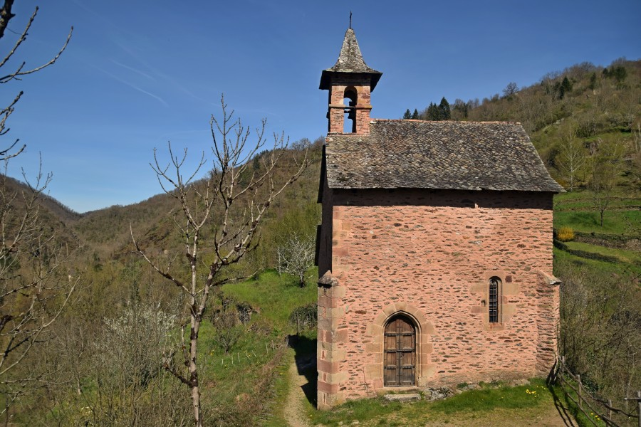 Chapel of St. Roch in Conques 03