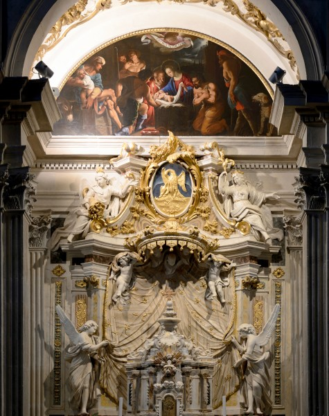 Chapel of the Nativity in Duomo of Spoleto