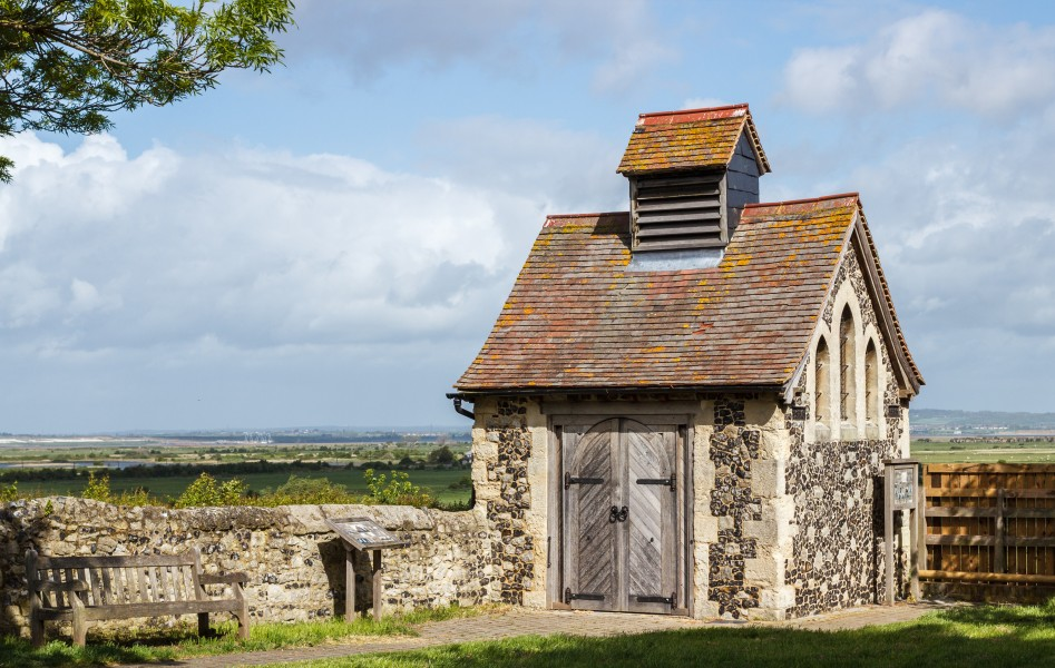 Charnel House at St Helens Church, Cliffe, Kent, England, 2015-05-06-5136