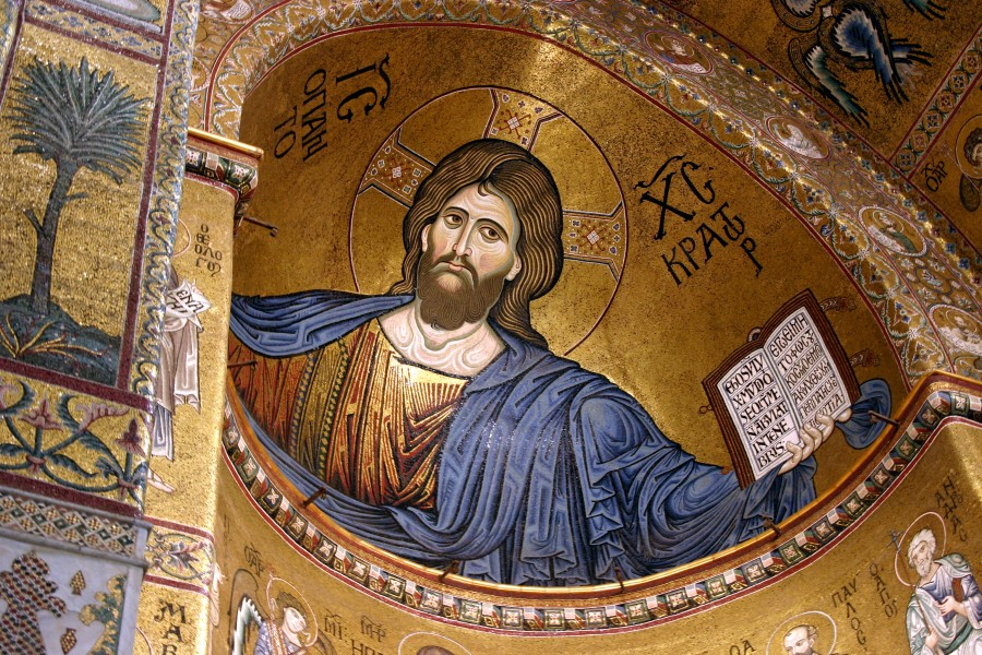 Christ Pantocrator - Cathedral of Monreale - Italy 2015 (5)