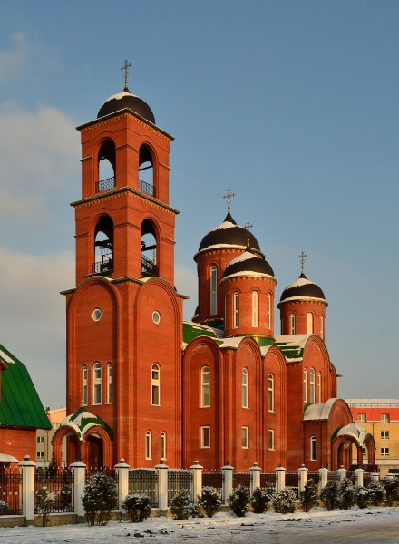 Church of Holy Trinity in Korolyov (large building) 1