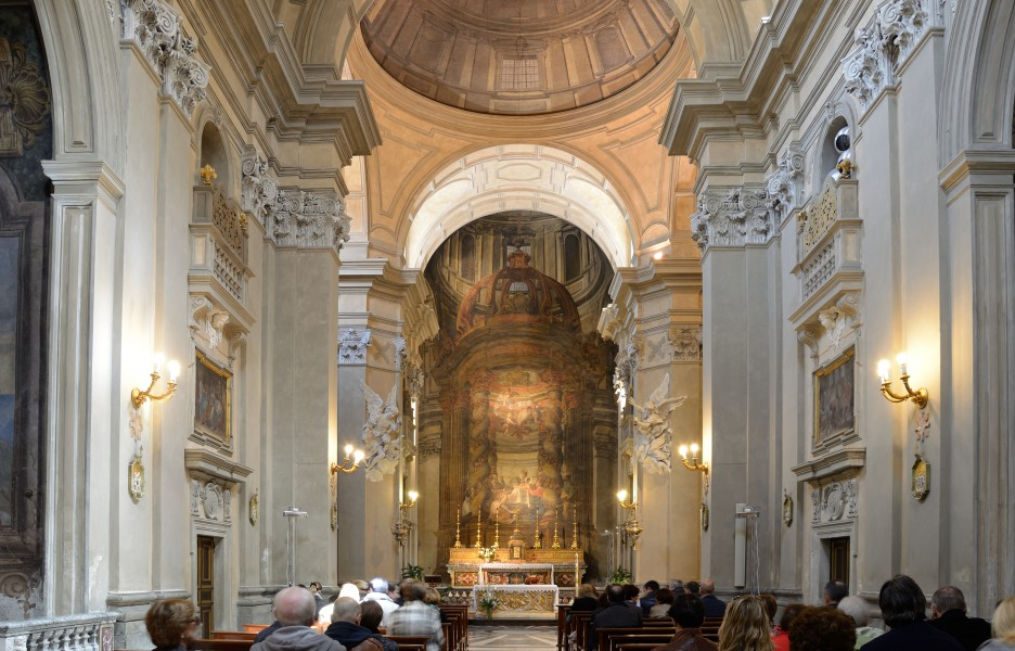 Church of Jesus in Frascati - intern