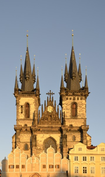 Church of Our Lady in front of Týn - Prague - 2012