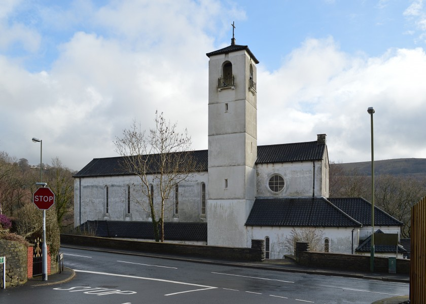 Church of Our Lady of Peace, Newbridge front