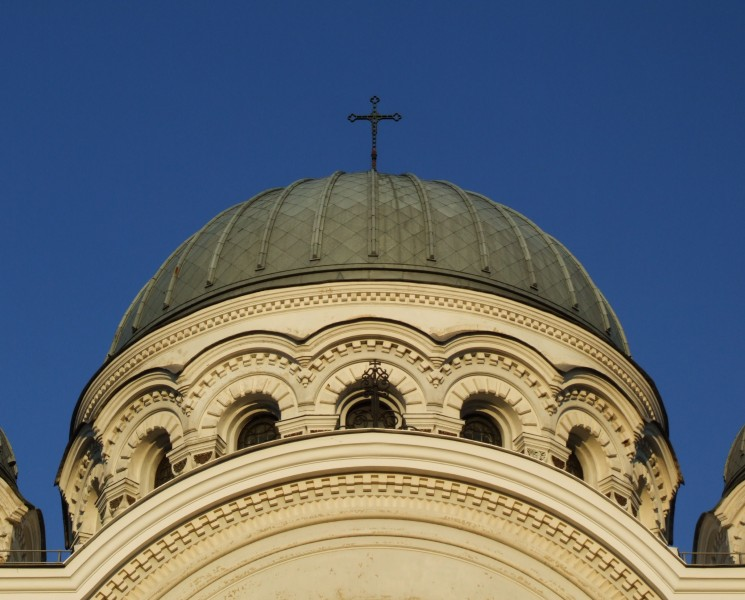 Church of Saint Michael the Archangel in Kaunas - dome