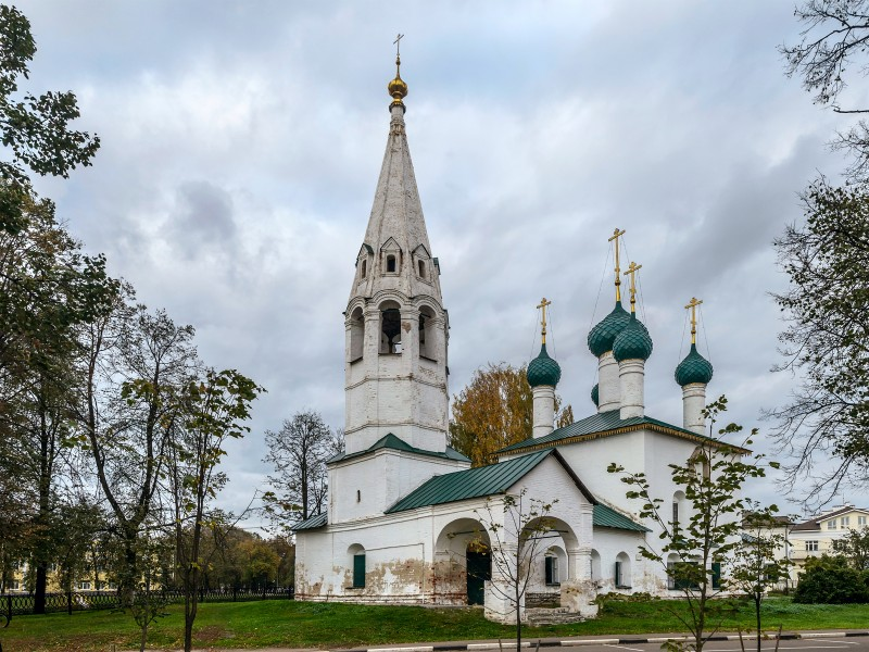 Church of Saint Nicholas in Yaroslavl 01